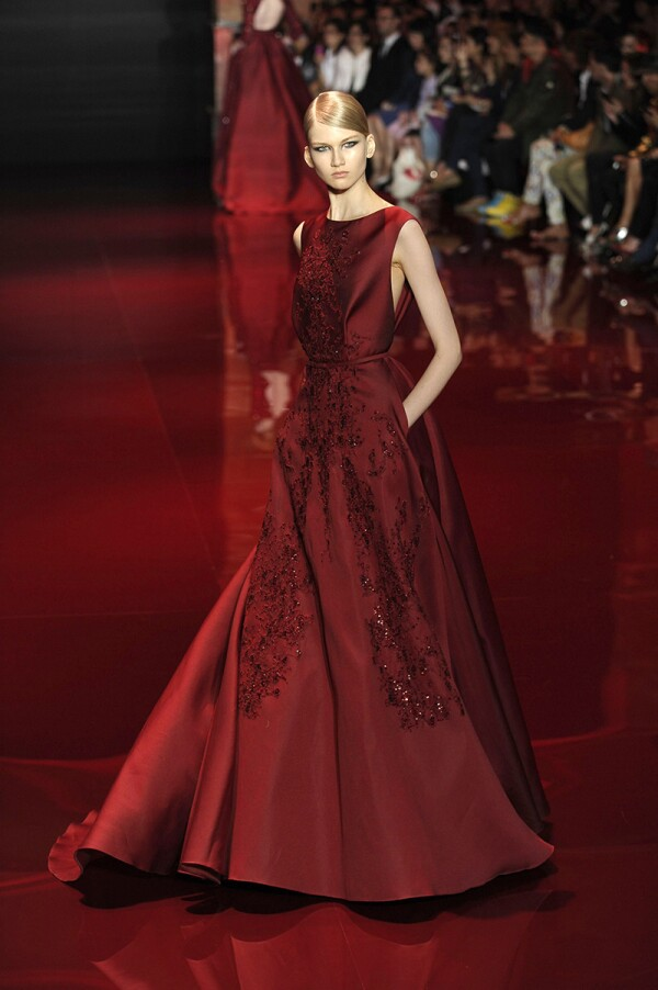 Elie Saab show, Haute Couture Fall Winter 2013, Paris Fashion Week, France - 03 Jul 2013