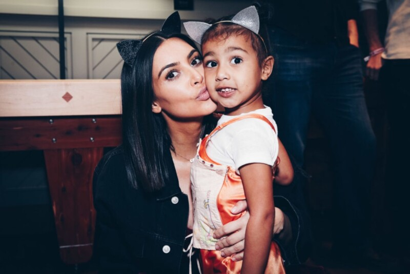 Kim Kardashian y North West Getty-2
