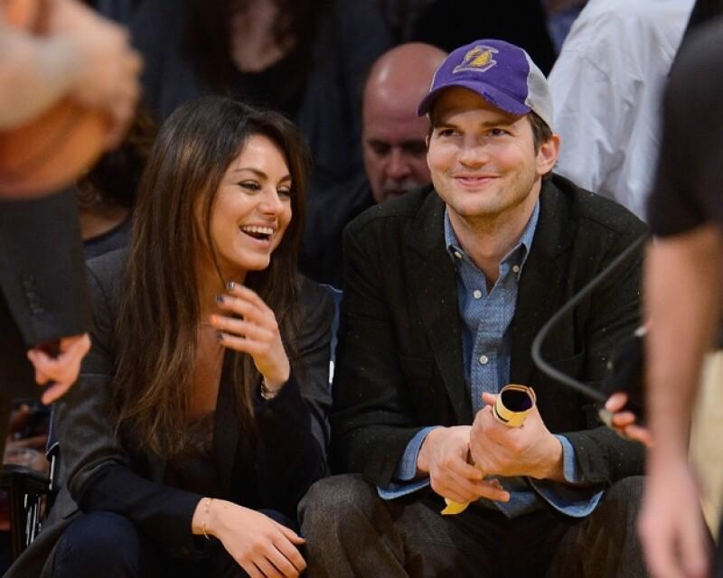 La actriz y Ashton Kutcher planeaban tener su primer hijo desde el año pasado, por lo que la buena noticia no resultó sorpresa para ellos