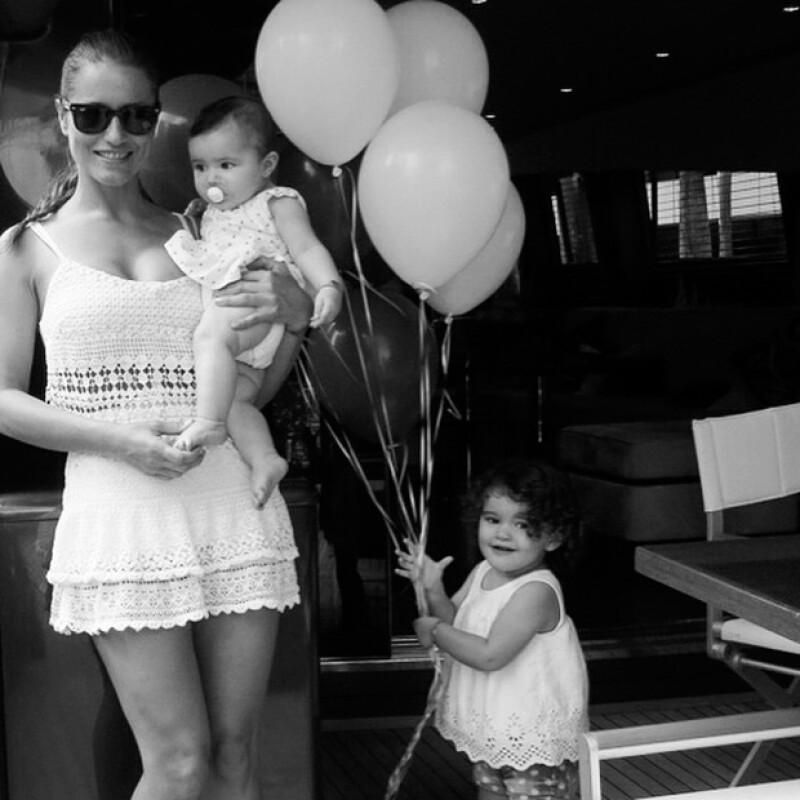 Lola Ponce además de ser mamá y continuar con su carrera profesional, mantiene un cuerpo de infarto.