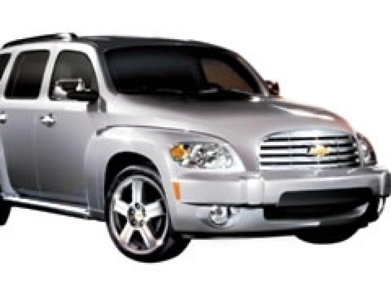 GM suspende temporalmente la producción de modelos como el HHR. (Foto: Cortesía)