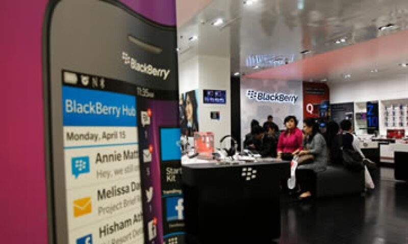BlackBerry ya recibió una oferta de Fairfax Financial para ser adquirida.  (Foto: Getty Images)