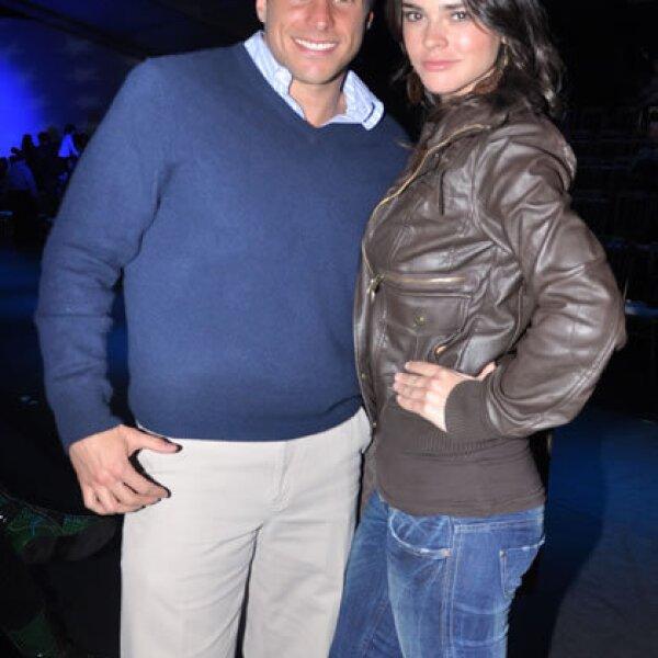 Jorge Marroquín y Fabiola Guajardo