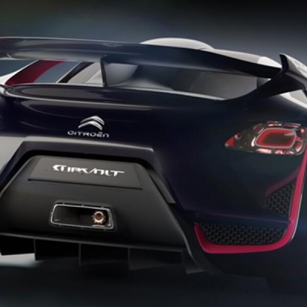 El spoiler cuenta con el clásico estilo Boosts para completar su diseño.