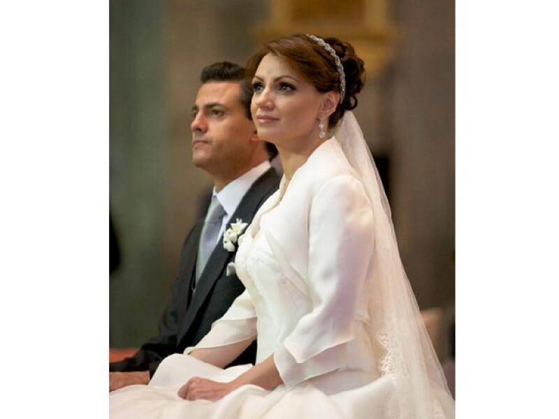Fue el 27 de noviembre que la actriz y el gobernador del Estado de México contrajeron nupcias ante sus familiares y amigos.