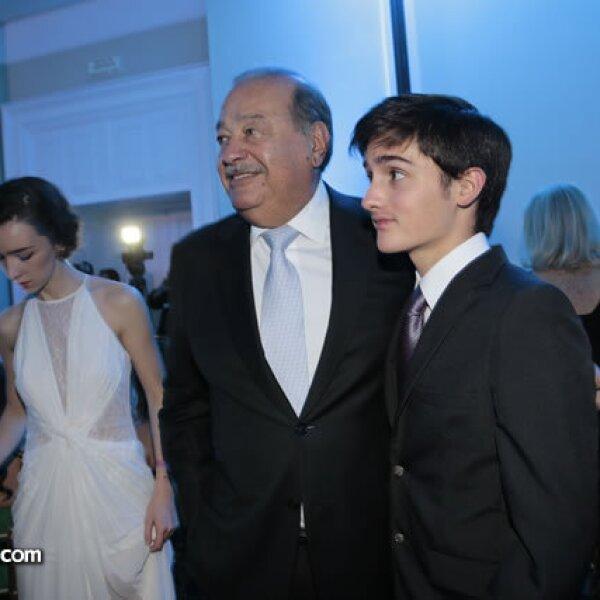 Carlos Slim,Luis Videgaray