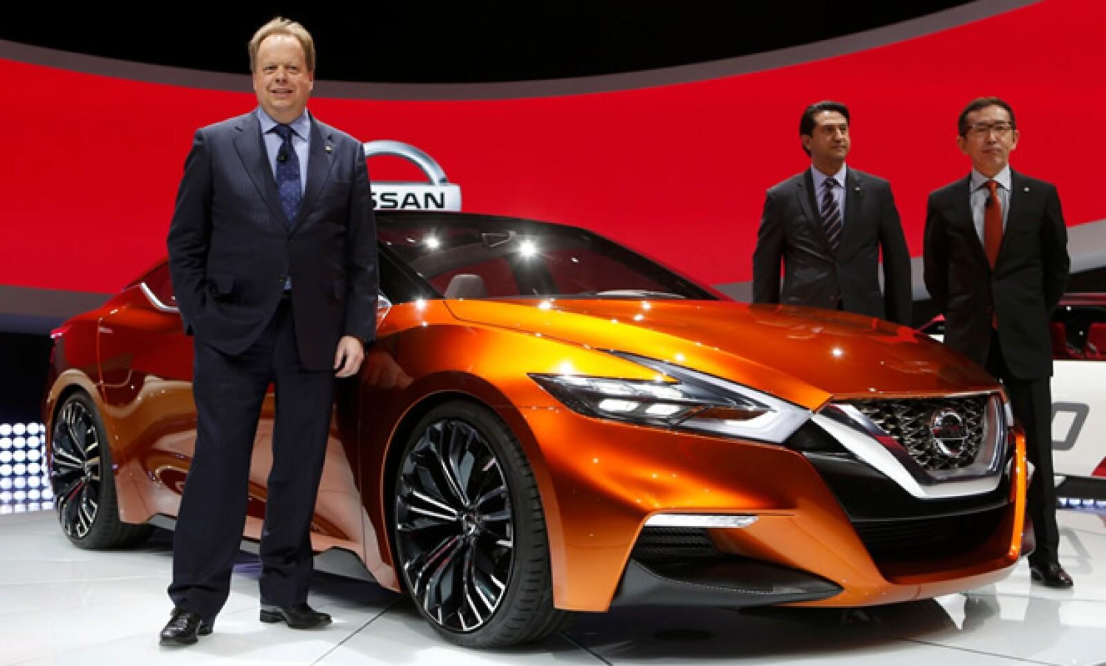 Este modelo comparte características de diseño con los modelos Resonance y Friend-Me que también se presentaron en Detroit.