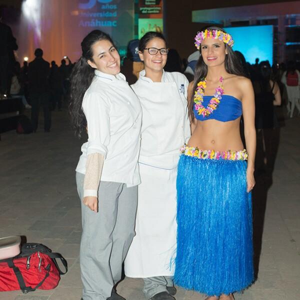 Marimar Collado, Cecilia Domit y Ana Sofía Domit