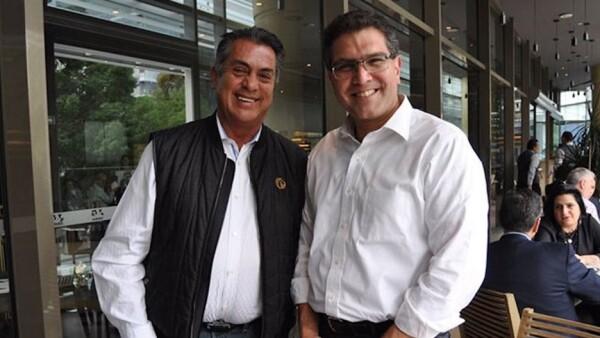 El Bronco y Armando Ríos Piter