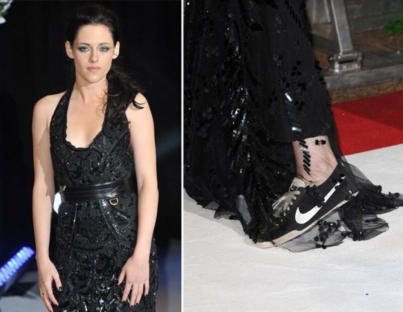 Kristen Stewart y sus Nike.