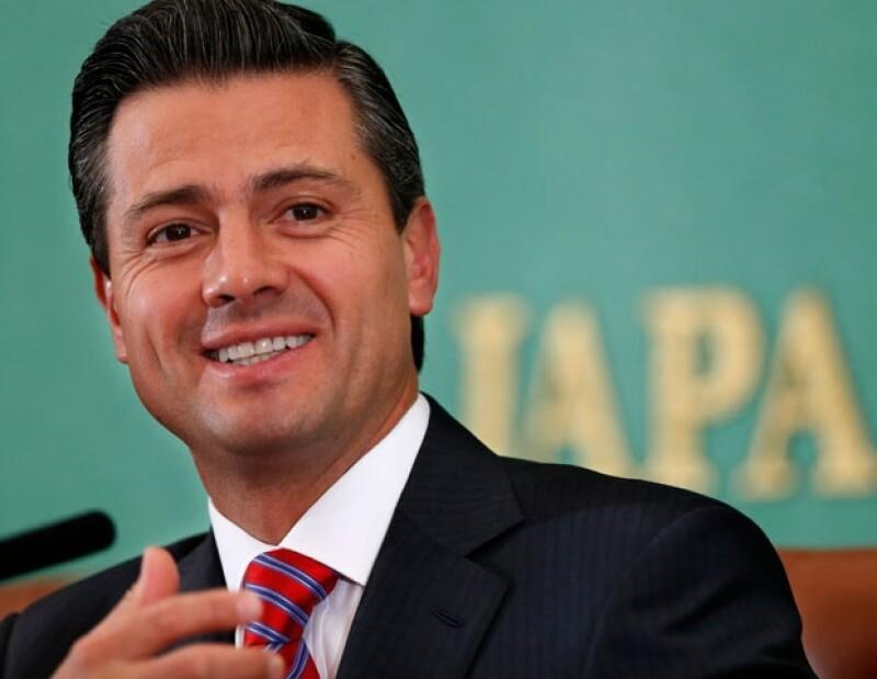 La revista Time nombró al presidente de México como uno de los `100 personajes más influyentes´ en su edición 2013.