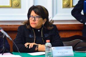 Martha Ávila es la nueva coordinadora de Morena en el Congreso CDMX. Foto: @MarthaSoledadv2 en Twitter