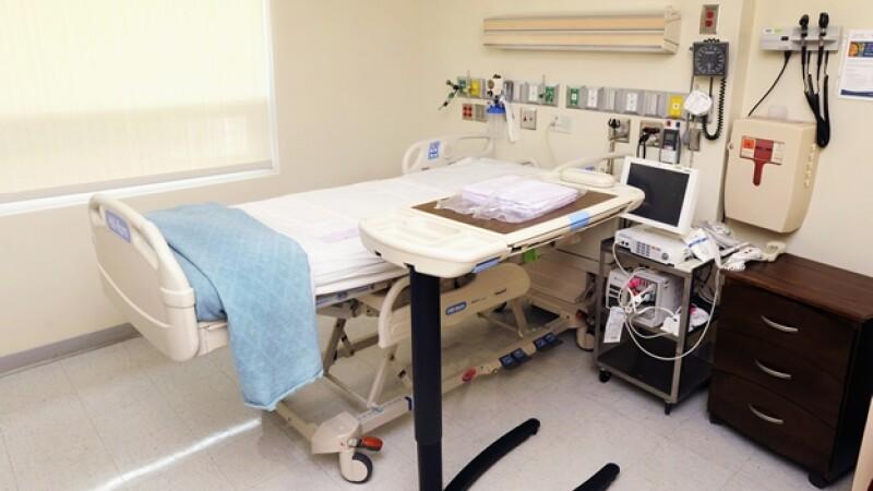 La unidad especial de aislamiento para el tratamiento de ébola que se encuentra en la Universidad de Emory en Atlanta