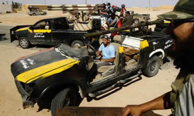 Eni se comprometió con el Consejo Naciona de Transición de Libia a abastecer a la población en principio. (Foto: Reuters)