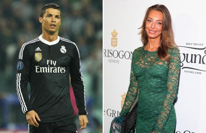 Los rumores apuntan a que el futbolista portugués está saliendo con la modelo y actriz italiana, luego de que estuvieran juntos en España.