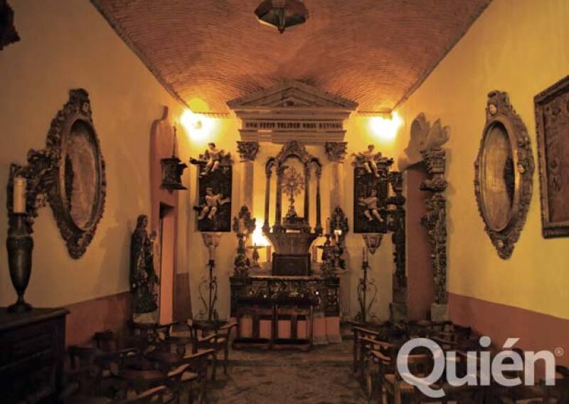 Joan Sebastian contó que en esta capilla se hacian misas clandestinas.