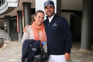 Nico y su esposa Rocío Barriga