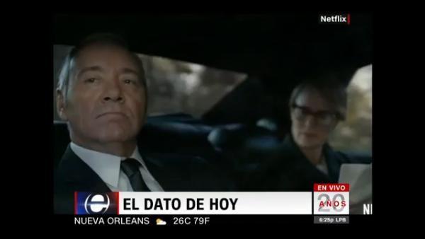 """#ElDatoDelDía: Habrá más """"House of Cards"""""""