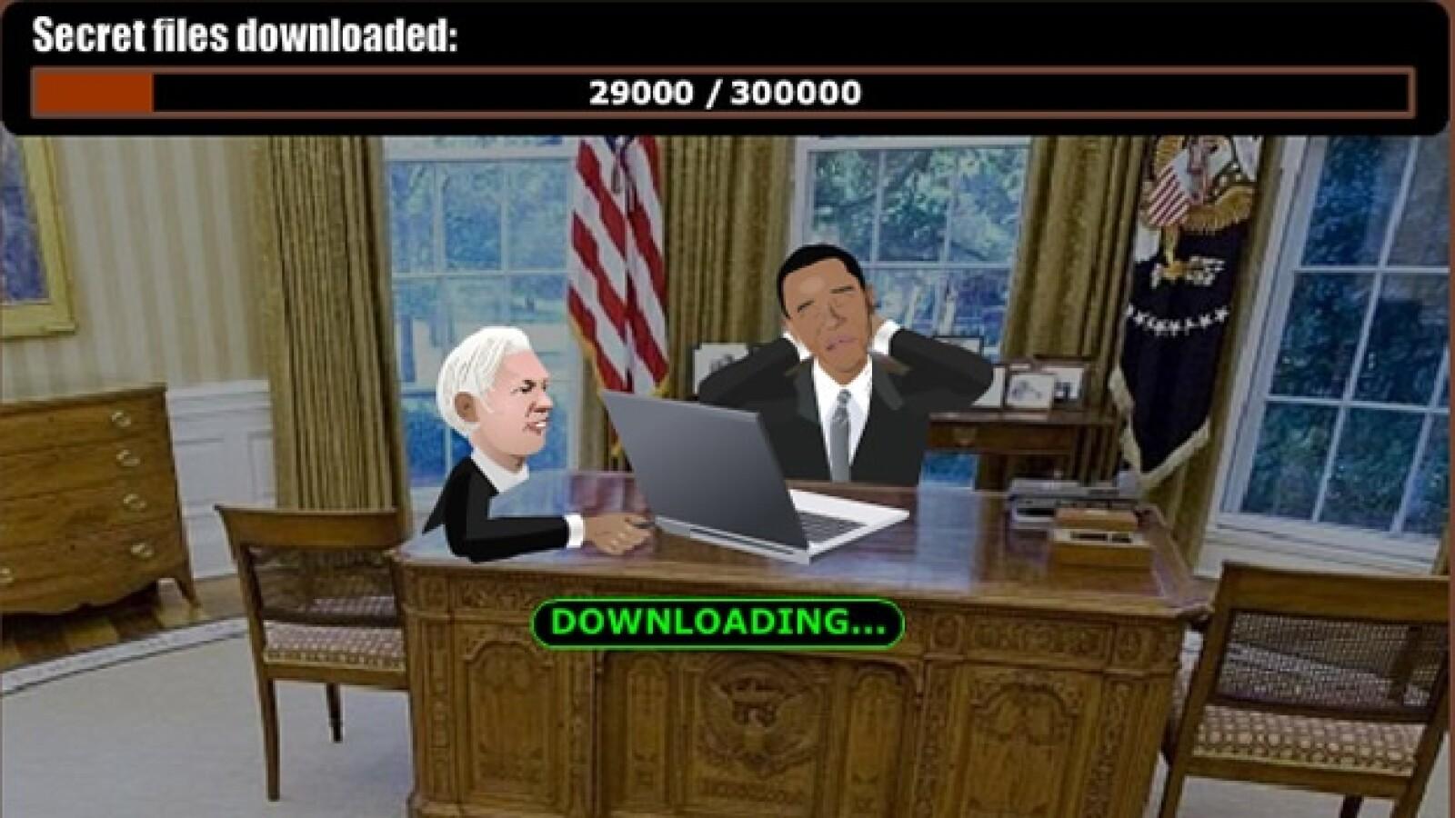 videojuego wikileaks