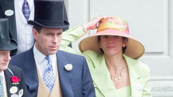 Príncipe Andrés y Ghislaine Maxwell