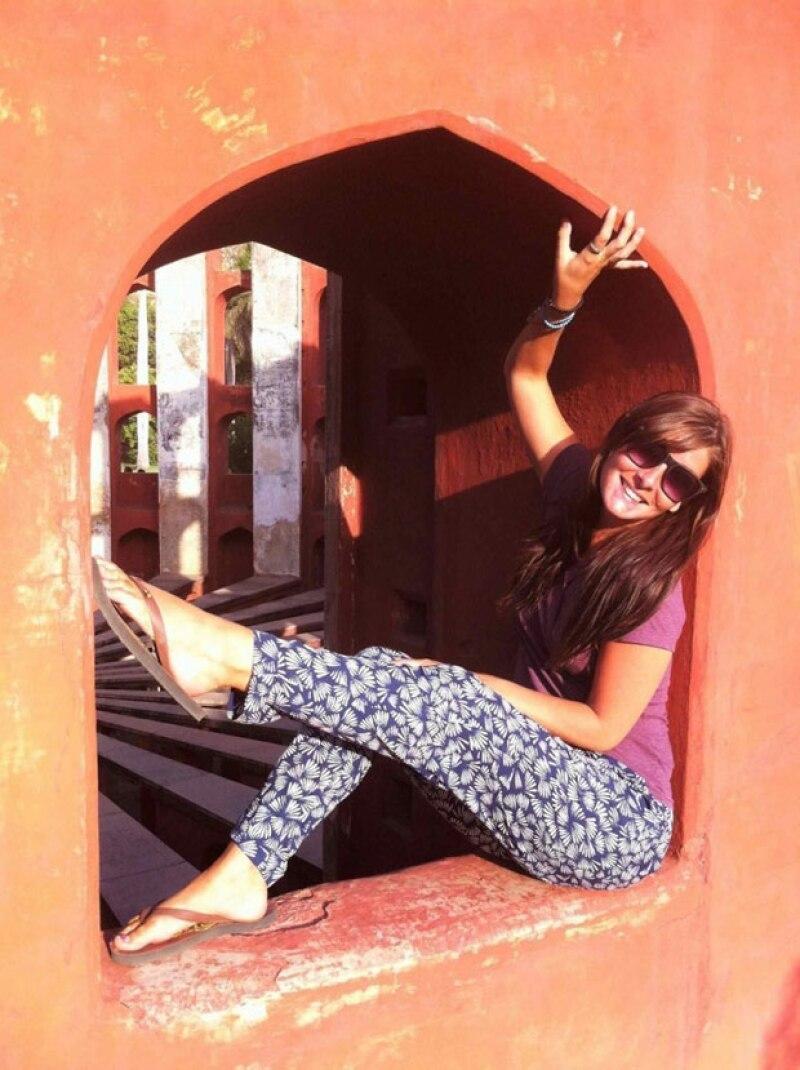 Katy Collins inició su blog para mantener informados a sus familiares y amigos.