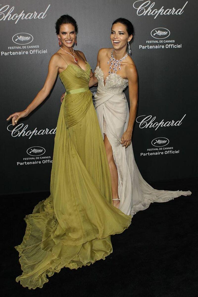 Alessandra y Adriana encantaron su belleza y personalidad.