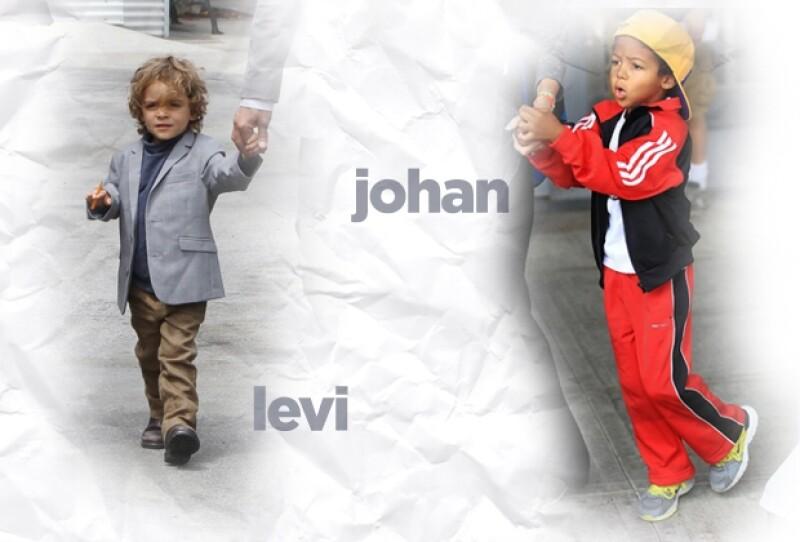 Levi es como un `mini me´ de Matthew, mientras que Johan quiere ser él mismo.