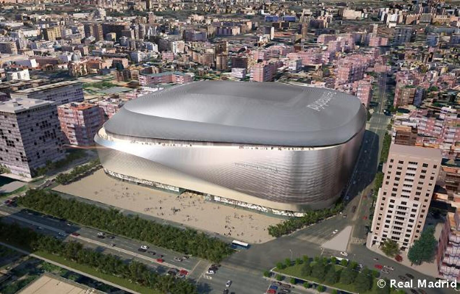 El proyecto correrá a cargo de las empresas GMP Architekten, L35 y Ribas&Ribastras, ganadoras del Concurso Internacional de Ideas de Arquitectura del Santiago Bernabéu.