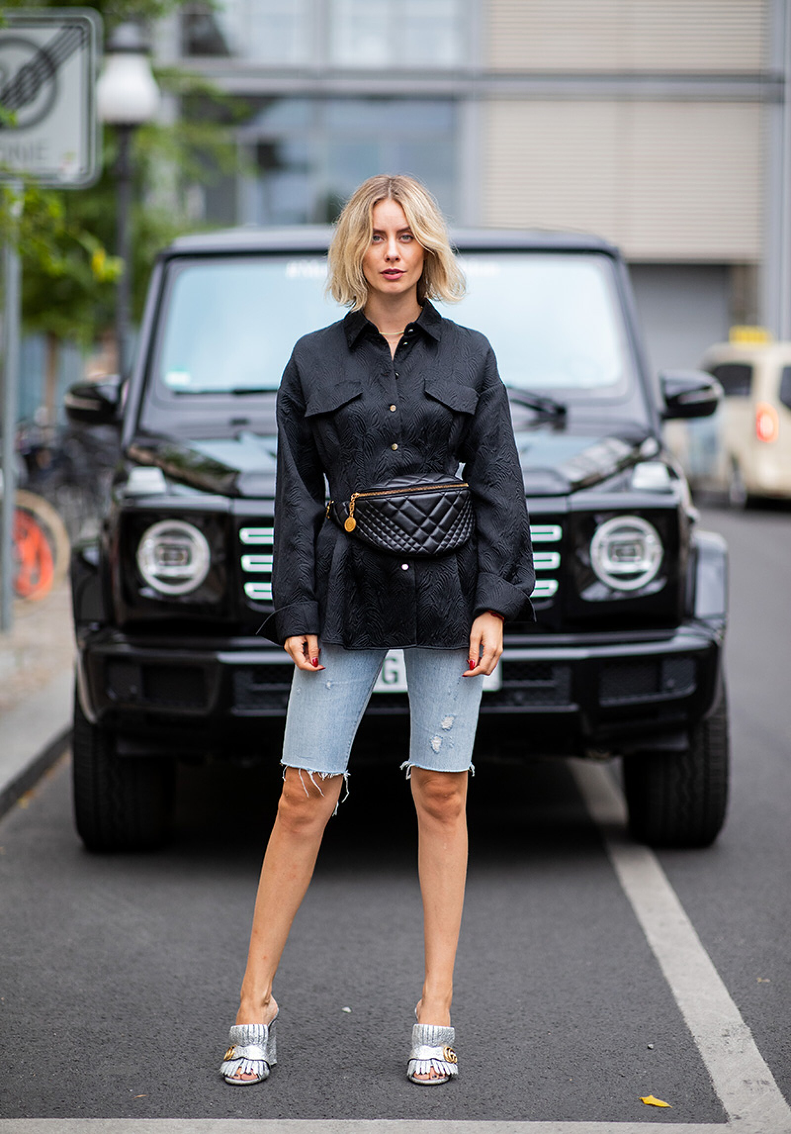 Street Style - Berlin Fashion Week Spring/Summer 2019 - July 6, 2018