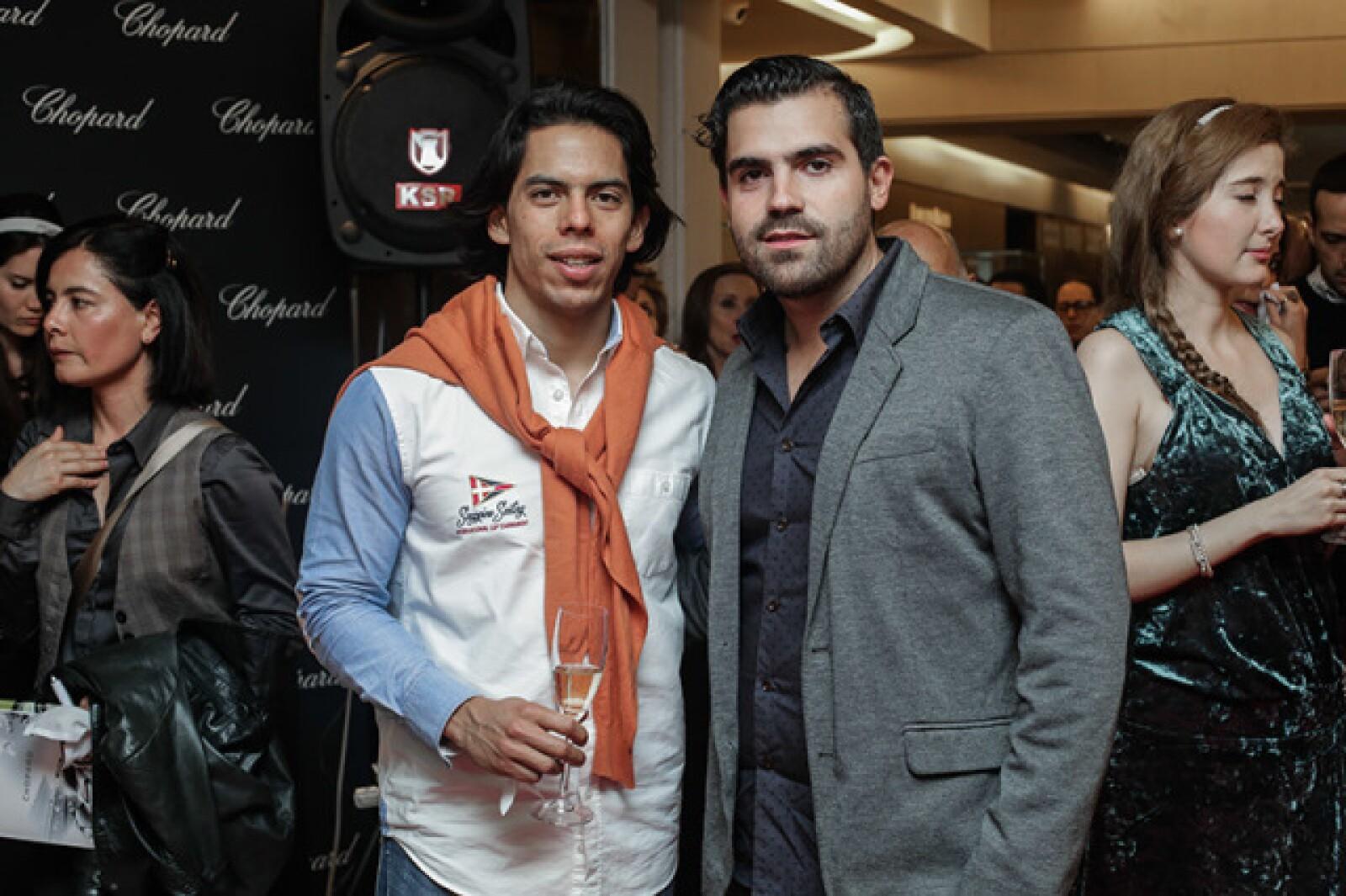 David Ordorica y Raúl Lozada