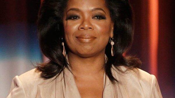 Oprah Winfrey obtuvo entre junio de 2009 y junio de este año 315 millones de dólares, lo que le permitió colocarse en el primer lugar.