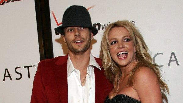 Kevin Ferdeline y Britney Spears