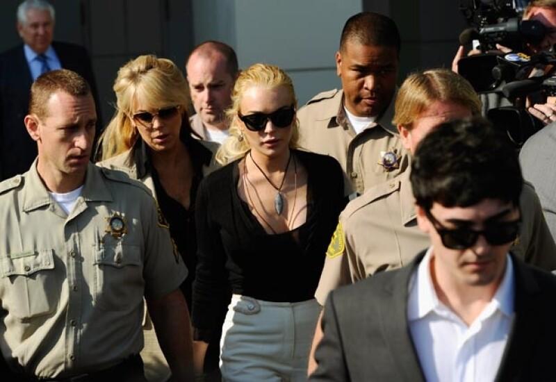 """La protagonista de """"Chicas pesadas"""" ha tenido que ir a la corte en numerosas ocasiones."""