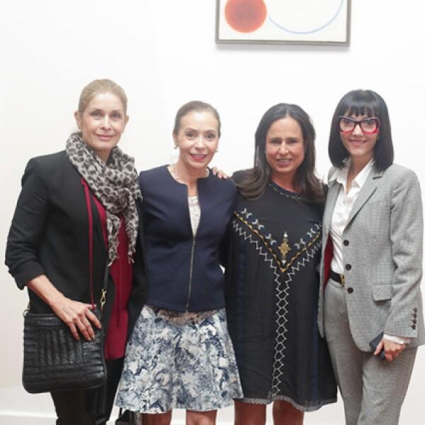 Ana Cristina Cabezut,Dunya Villaseñor,Gabriela Gout y Pilar Álvarez