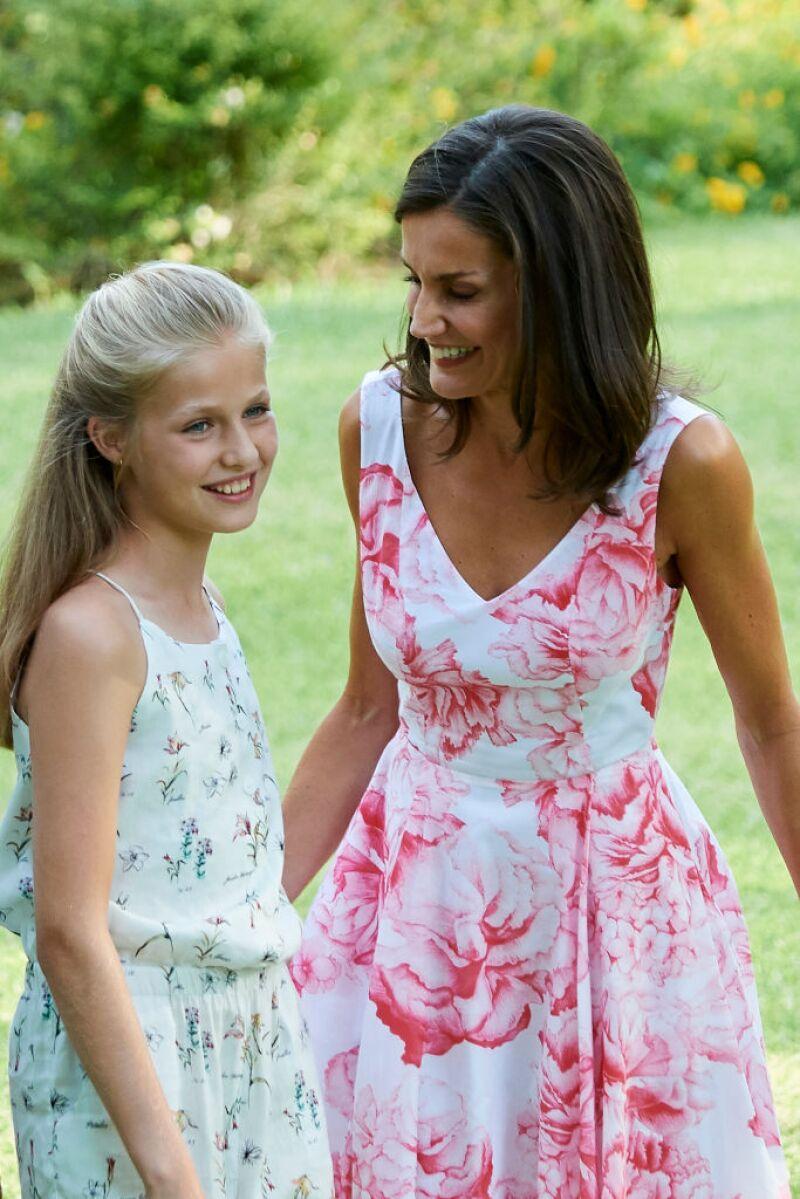 Princesa Leonor y Letizia Ortiz