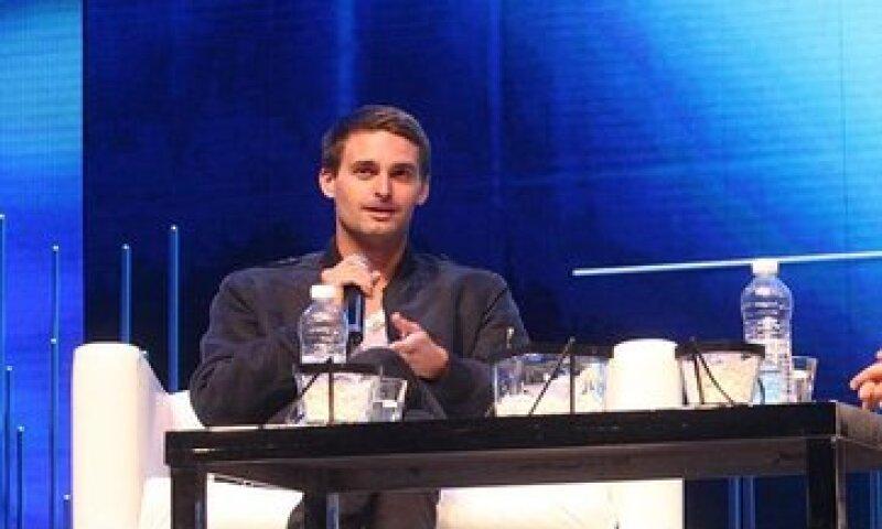 El director general y cofundador de Snapchat, Evan Spiegel, es uno de los millonarios más jóvenes. (Foto: Cortesia Fundación Telmex  )