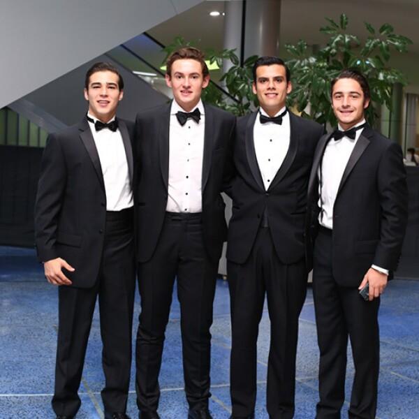 Andres Conesa, Raymundo Platas, Pablo Jorba y Gustavo González