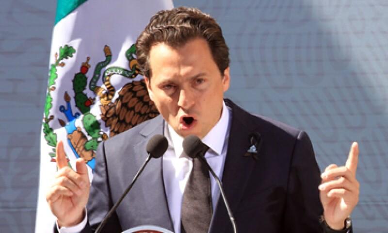 El director de Pemex, Emilio Lozoya, descartó la posibilidad de que la paraestatal sea privatizada. (Foto: Notimex)
