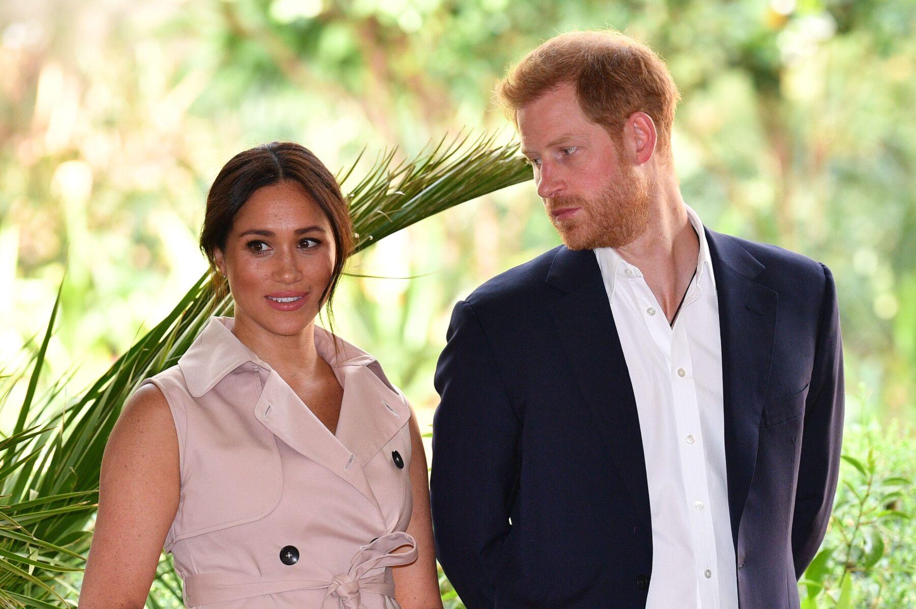 Meghan Markle y príncipe Harry
