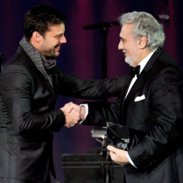 El reconocimiento Personalidad del 2010 fue dado por Ricky a Plácido.