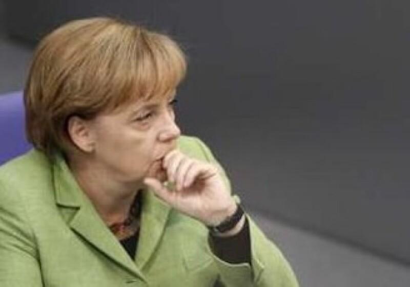 El Gobierno de Angela Merkel no pudo tener un mayor respaldo legislativo al plan de rescate a la zona euro. (Foto: Reuters)