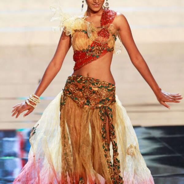 Miss República de Mauricio, Ameeksha Dilchand.