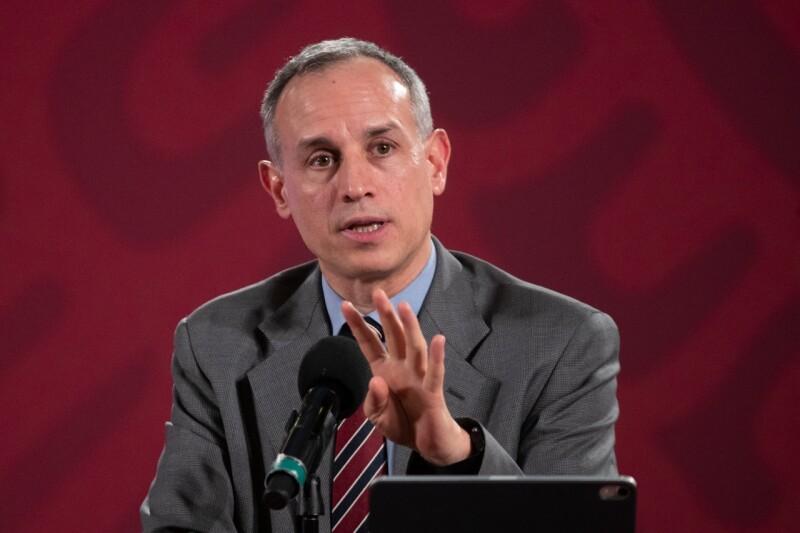Hugo López-Gatell el 2 de junio