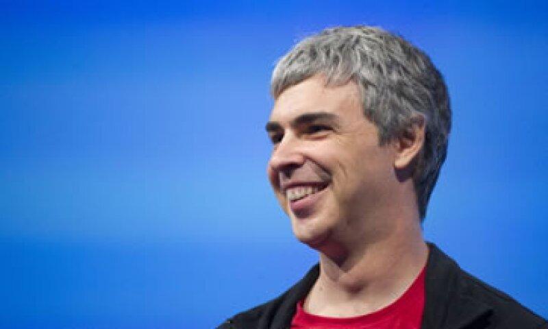 Con un perfil modesto, el CEO de la marca, Larry Page, ha acumulado grandes ganancias. (Foto: Getty Images)