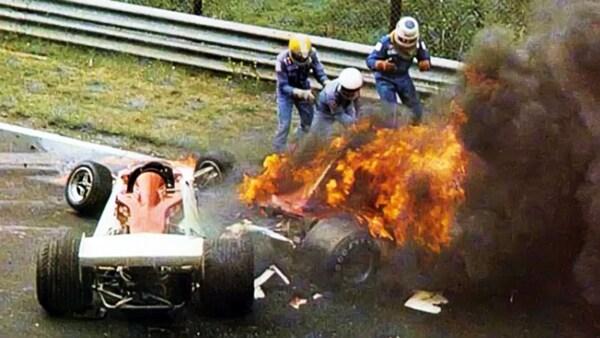 Niki Lauda Accident