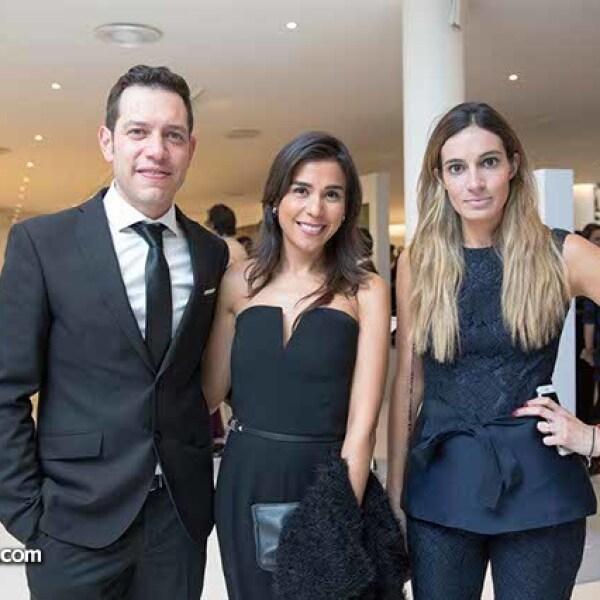 Jorge Murillo,Karen Nichols y Andrea Wade