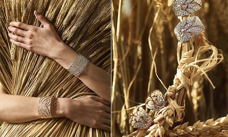 Las piezas buscan representar el trigo y la temporada de cosecha.