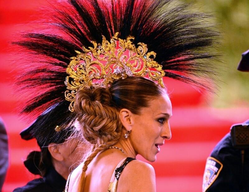 Sarah Jessica Parker en la gala del Met.