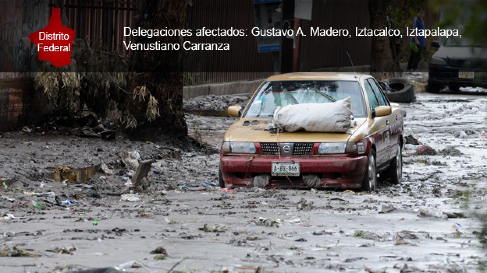 Distrito Federal inundaciones