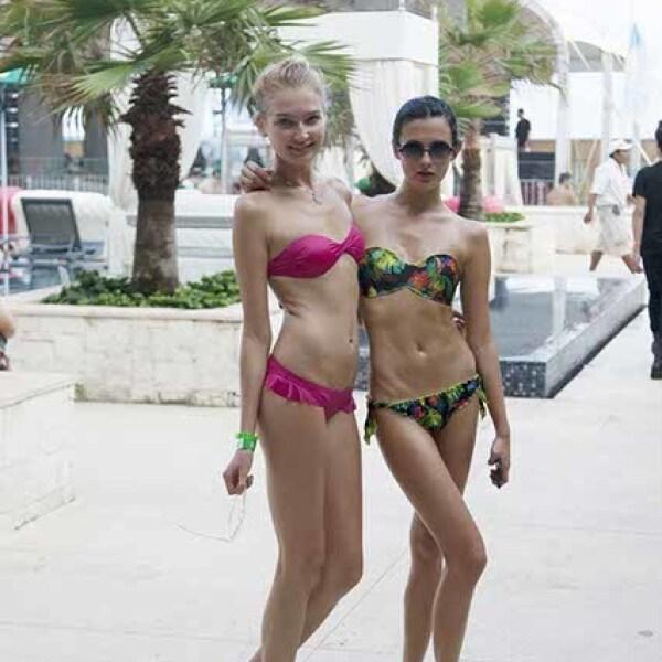 Tanya Velechutina y Jenya Papiroska